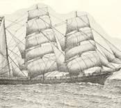 """Trio: Barkskepp, 338 brutto ton. Byggd i Frankrike med namnet """" Assurance"""". Sedemera  under holländsk flagg """"Kobe"""" och under norsk vid början av 80-talet. 1901 inköpt av C.J. Nilsson Skrikebo, Oskarshamn, och omdöpt till Trio. Befälhavare till 1911 E.E. Lindström, därefter O.W. Grönberg t.o.m. 1912, C.A. Oljekvist 1913. Strandad på Själland 1913 och upphuggen i Köpenhamn."""