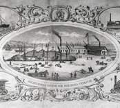 Oskarshamns dockor och mekaniska verkstad.