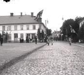 Nybro, inför kungabesöket 1910.