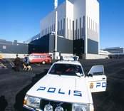 Från invigningen av reaktorn OIII i Simpevarp. En present misstänktes vara en bomb.