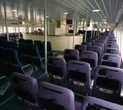 Oskarshamns varv AB. Vattenjetdriven katamaranfärja, 40 knop.
