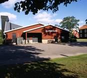 Glasskolan i Orrefors.
