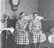 Linnéa och Edit Karlsson.