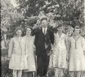 Familj i Mörtfors.