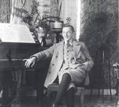 Stefan Wagner från Wien, krigsbarn hos familjen Molin i Mörtfors.