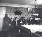 Familjen Josef Karlsson i Solberga.