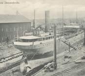 Torrdocka  på Oskarshamns varv