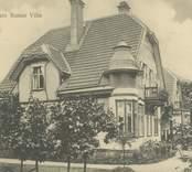 """Borgmästare Runes Villa, """"Villa Milano"""", i  Västervik."""
