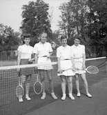Tennis i Klara 1942