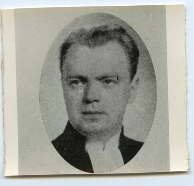 Präst från Räpplinge kyrka.