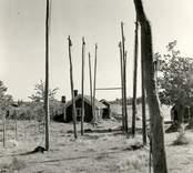 En så kallad gista, som användes för att hänga upp fisknät på.