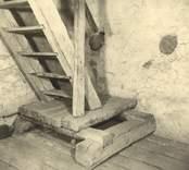Trappa i Loftahammar kyrkas torn.