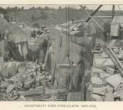 Ett granitbrott i Vånevik.