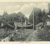 Före detta  båtsmanshus vid Skansen i Källvik.