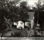 Alfred Tjäders hem i Norum. Fotot är taget 1928