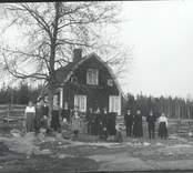 Bostadshus i Borhult. J.P Bomans Byggnad. Moderatledaren Gösta Boman härstammade härifrån.