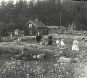 En familj i Nybro, Hjorteds socken.