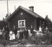 Fridhem vid Hjorteds station 1915.