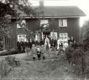 Frits Carlssons bröllop i Norrhult.