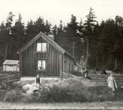 Johan Agust Petersson född 1842 var laggkärlsmakare. En släkting till J A Petersson var jungfru hos Berners. Nybo ligger mellan Falsterbo och Meljäng.