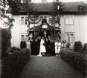 Svenssons silverbröllop i Svederna, nära Yxered.