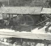 Timmerrännan vid sågverket i Kvarnbro.