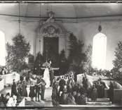 Vigsel i Hjorteds kyrka.