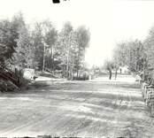 Vägbygge i Hjorted 1932