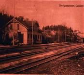 Gamleby järnvägstation.