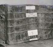 En dombok för år 1835 från tingshuset i Gamleby. Förvaras på landsarkivet i Vadstena.