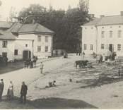 En gammal bild tagen i Gamleby.