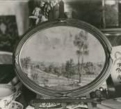 En målning med jaktmotiv som finns på Casimirs herrgård.