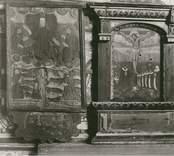 Epitafier från 1600-talet i Gamleby kyrka.