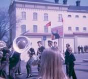 Första maj i Västervik1971