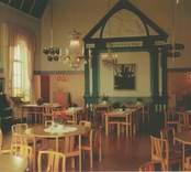 Interiör från församlingshemmet i Västervik.