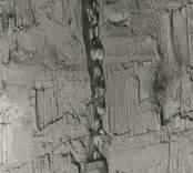 Rester av en tapet som påträffats i Sankta Gertruds kyrka.