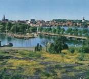 Utsikt från Kulbacken i Västervik.