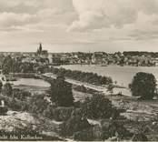 Utsikt över Västervik från Kulbacken.