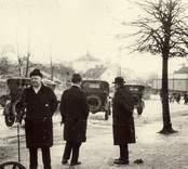 Vy från Oskarshamn på 1920-talet.