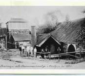 Masugn och hammarsmedja i Orrefors år 1890.