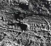 300 meter väster om Utrike gård och cirka 3 kilometer sydväst om Lofta kyrka upptäcktes 1933 en ristning med två skepp och cirka 30 skålgropar. Ytterligare ett skepp syntes vid fotografering 1965.