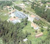 Flygfoto över Gullaskruv.