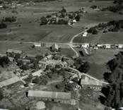Flygfoto över Lunds by.
