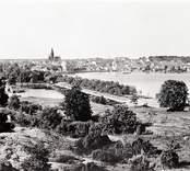 Staden sedd från Kulbacken.