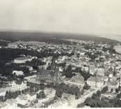 Flygfoto över Västervik 1933.