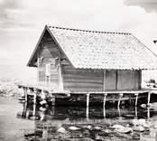 Tidemans sjöbod vid Väderskär.