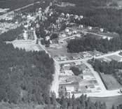 Flygbild över Fårbo.