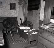Interiör av dabbekullabyggnaden.