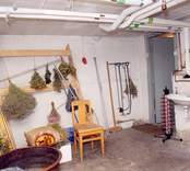Fredriksbergs herrgård, interiör från pannrummet på källarplan.