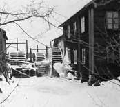 Snickeri och vattensåg cirka 1890-95. Brann därefter.